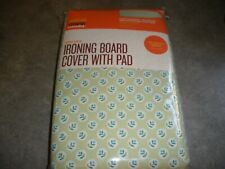 New Martha Stewart Everyday Extra Thick Ironing Board Cover with Pad Green Flora
