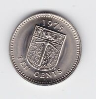 1976 Coat of arms Rhodesia 1 cent Coin  Q-144