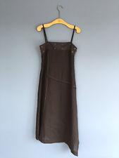 Magnifique Designer Adolfo Dominguez Robe Noire Taille EU40 UK12