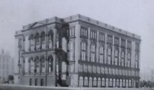 Cooper Institute in Lincoln's Time, New York City, Old Magic Lantern Glass Slide