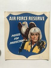 1950's Air Force Reserve w/ Pilot and Eagle Window Decal
