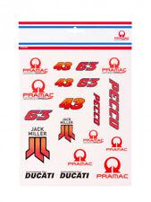 More details for official pramac ducati team large sticker set - 19 56101