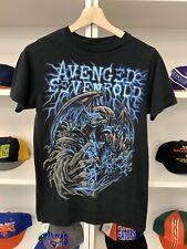 2011 Avenged Sevenfold Tour Shirt Sz S Rock Band Concert UK International