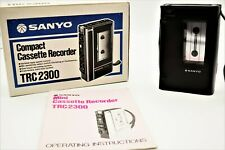 Sanyo TCR2300, Walkman, Cassete Recorder