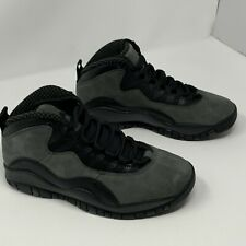 Air Jordan Retro 10 X Dark Shadow Black True Red 310805-002   SZ 11 No Box Top