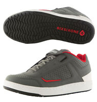 661 SixSixOne FILTER SHOE - GRAY/RED (CLOSEOUT) _6829-40