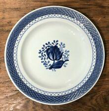 """VINT ROYAL COPENHAGEN TRANQUEBAR DINNER PLATE 9-3/4"""" EUC"""