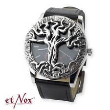 "Uhr ""Tree of Life"" Lebensbaum mit Deckel Kunststoffarmband etNox mit Metallbox"