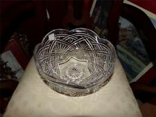 WATERFORD EXTRA LARGE CRYSTAL BOWL RETIRED PATTERN!!! PEDESTAL ESTATE