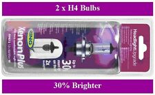 Ring Xenon Plus Headlight Bulb Upgrade - 30% brighter Includes 2 Bulbs (BU4)