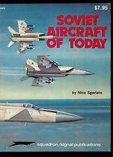 Rare Vintage Squadron Signal Magazine Soviet Aircraft Of Today Airplane Plane