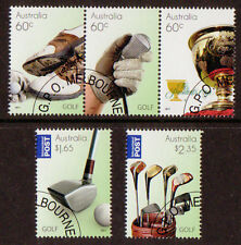 AUSTRALIA 2011 SPECIAL OFFER GOLF SET OF 5 CTO