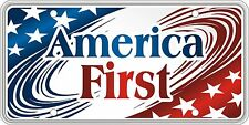 America First Stars and Striped License Plate SVUSA1ST06