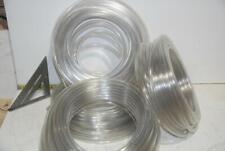 """2 - 100' Rolls: Clear Kuriyama NSF Food Safe PVC Tubing 3/8"""" ID x 1/2"""" OD - 200'"""