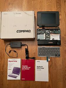Vintage Compaq Contura 4/25 Laptop Parts Lot