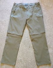BNWOT CRAGHOPPERS PRO STRETCH CONVERTIBLE SOFT SHELL WALKING TROUSERS 42 W LONG