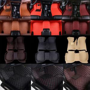 For Porsche All Model Car Floor Mats Custom FR & RR FloorLiners Carpets Auto Mat