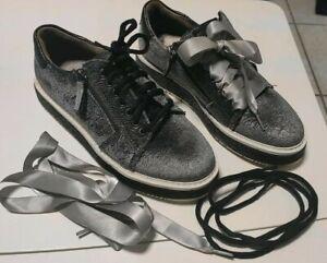 Jette Joop Sneaker 38 Damen Trachtenschuhe Grau/Silber