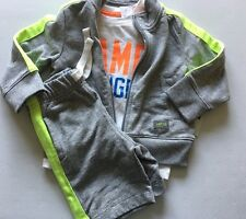 New Baby Gap Boy's 2 2T Outfit 3 Piece Shorts Shirt Zip Sweatshirt Jacket $64.