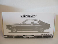 ( GOL ) 1:18 Minichamps Ford Capri I RS 2600 1970  NEU OVP