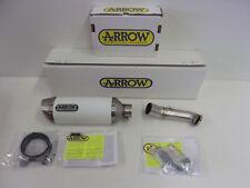 Arrow Auspuff Sportauspuff Auspuffanlage Endschalldämpfer weiß KTM Duke 125 390