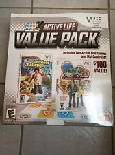 New Nintendo Wii Active Life OutDoor Challenge Extreme Value Pack Sealed