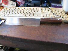 Joyce Chen kitchen cleaver knife molybdenum steel hardwood rosewood