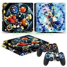 Kingdom Hearts Video Game Sora Vinyl Skin Sticker Decal Protector for PS4 Slim