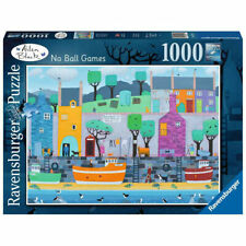 Ravensburger 1000 Piece Jigsaw Puzzle Alisa Black No Ball Games
