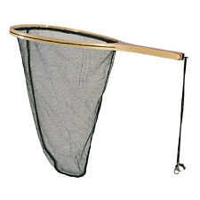 Shakespeare Agility Rise Spoon Net Wooden Frame & Handle Fly Game Fish (1315262)