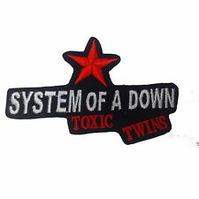 SYSTEM OF A DOWN Embroidered Rock Band Iron On or Sew On Patch UK SELLER Patches