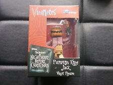 Vinimates Diamond Nightmare Before Christmas Pumpkin King Jack Figure NEW