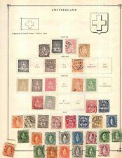 Kenr2: Switzerland Collection from 1840-1940 Scott Intern Bound Album