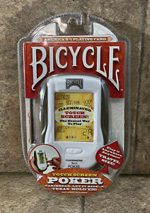 Bicycle Touch Screen Poker Electronic Game by TechnoSource 2009 NEW In Package