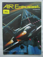 AIR ENTHUSIAST 11/1972 SIKORSKY SH-3H HAWKER HS 125 ME 262 AIR SKIMMER X-28