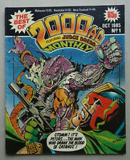 2000AD Best of Monthly comic #1 - Oct 1985 VG/FN (phil-comics)