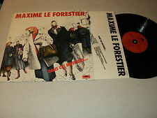 """MAXIME LE FORESTIER 33 TOURS LP 12"""" FRANCE DANS CES HISTOIRES ... YANN KERSALE"""