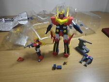 Uesd muteki choujin Zambot 3 Action Figure BANPRESTO Japan Full Set zambot 3