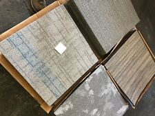 "Random Carpet Tiles.12 Tiles equaling 48 sq ft. 24""x24"" tiles. Same color family"