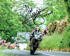 John McGuinness 2018 Signed 10 x 8 action shot picture & we can show you proof