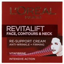 LOral Paris Revitalift Face Contours and amp; Neck Re-Support Cream 50ml Free