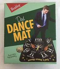 Wembley Dad Dance Mat New Bust a Move Father teach steps Gift Easy Fun B1