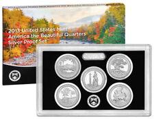 (1) 2013 United States Silver Proof Quarter Set in Original Box