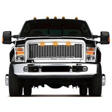 08-10 FORD F250 F350 Super Duty Raptor Style Mesh Grille in Chrome w/ Led