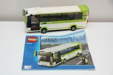 LEGO CITY Green Bus Split From 8404 Corner Set With Instructions