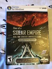 Sins of a Solar Empire: Collector's Edition (PC, 2008) SEALED