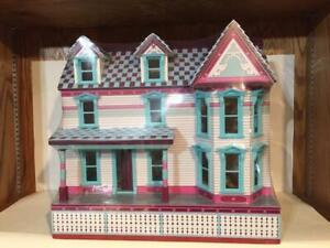 Melissa and Doug Wooden Victorian Dollhouse NIB