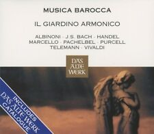 MUSICA BAROCCA DAS ALTE WERK-KATALOG-ANTONINI,GIOVANNI/IL GIARDINO  CD NEW+