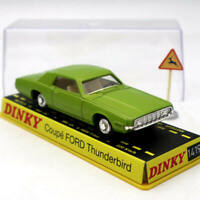 Atlas Dinky toys ref 1419 COUPE FORD THUNDERBIRD Diecast Models green 1/43