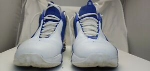 2004 Nike Flight Shox Jump Off Sz 12 White Varsity Royal Blue 307550-142-00